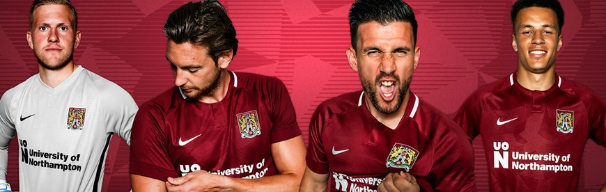 88af88b7b2c Just Sport launch the Northampton Town 18 19 Home Kit